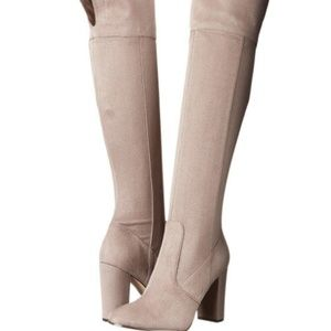 f47161e2525 Ivanka Trump · Ivanka Riviera over the knee boot suede
